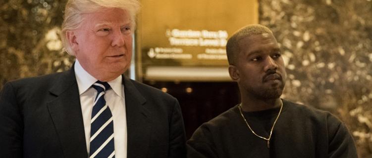 Kanye West diz que Donald Trump é tipo um irmão para ele