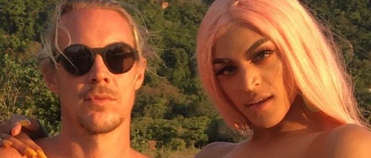 """Pabllo Vittar e Diplo gravam clipe de """"Então Vai"""""""