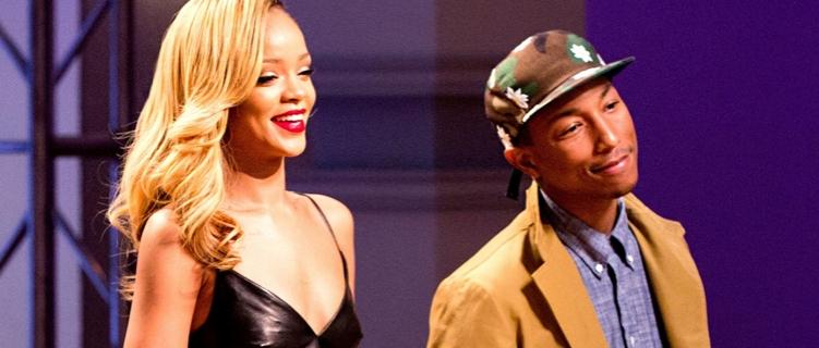 Parece que tem música nova da Rihanna com o Pharrell chegando!