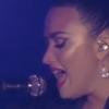 """Emocionada, Demi Lovato canta """"Sober"""" pela primeira vez no Rock in Rio Lisboa"""